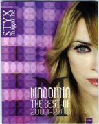 STYX - MADONNA THE BEST OF 2000-2010 FRANCE Picture Book